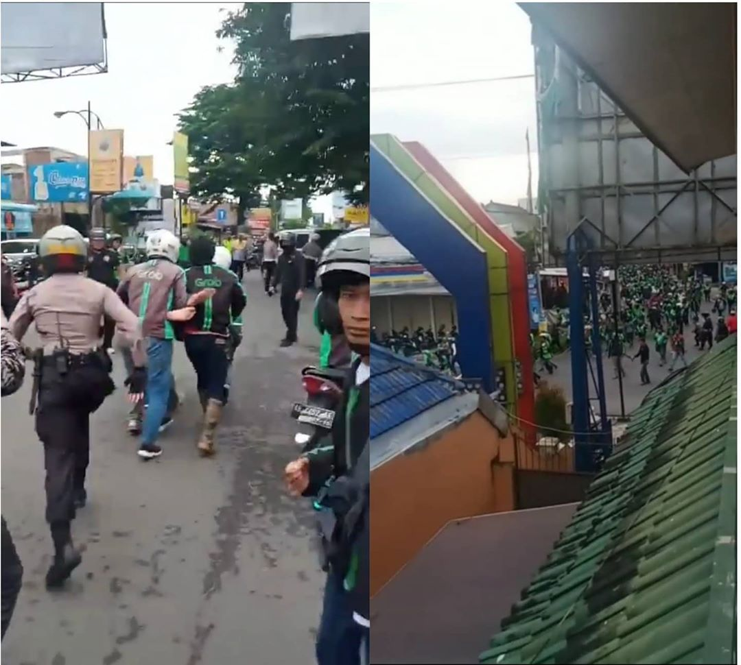 Driver Ojol VS Debt Collector di Jogja Ricuh
